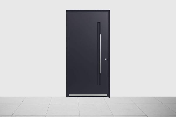 Aluminium Haustür Anthrazit Grau